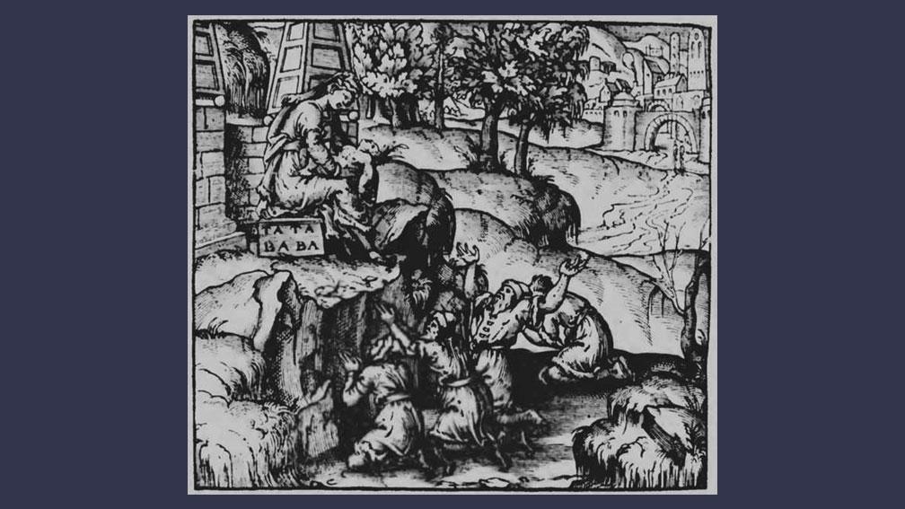 "Zlata baba. Гравюра из ""Всемирной космографии"" Андре Теве (1575). Фото © Wikipedia"