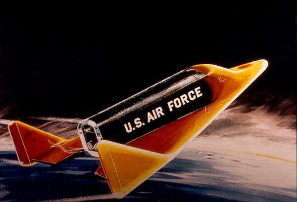 Космический разведчик-перехватчик-бомбардировщик X-20 Dyna-Soar (рисунок). Фото © Википедия