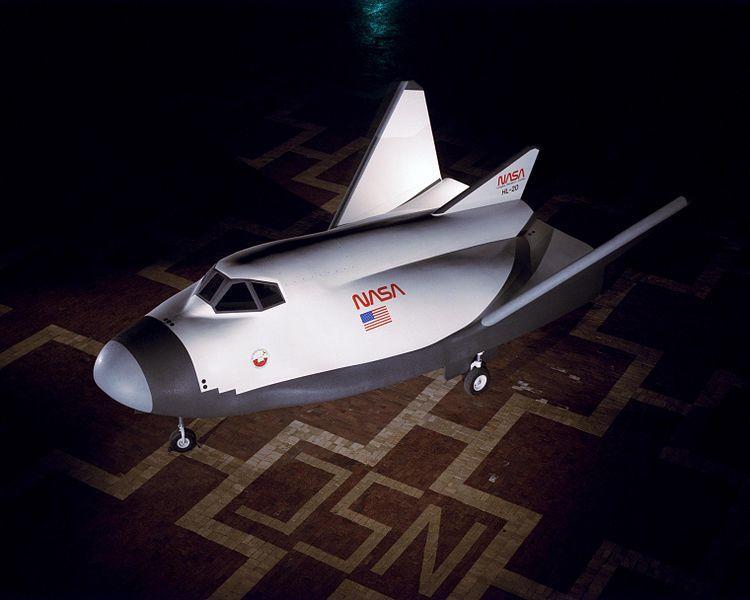 Орбитальный самолёт NASA HL-20. Фото © Википедия