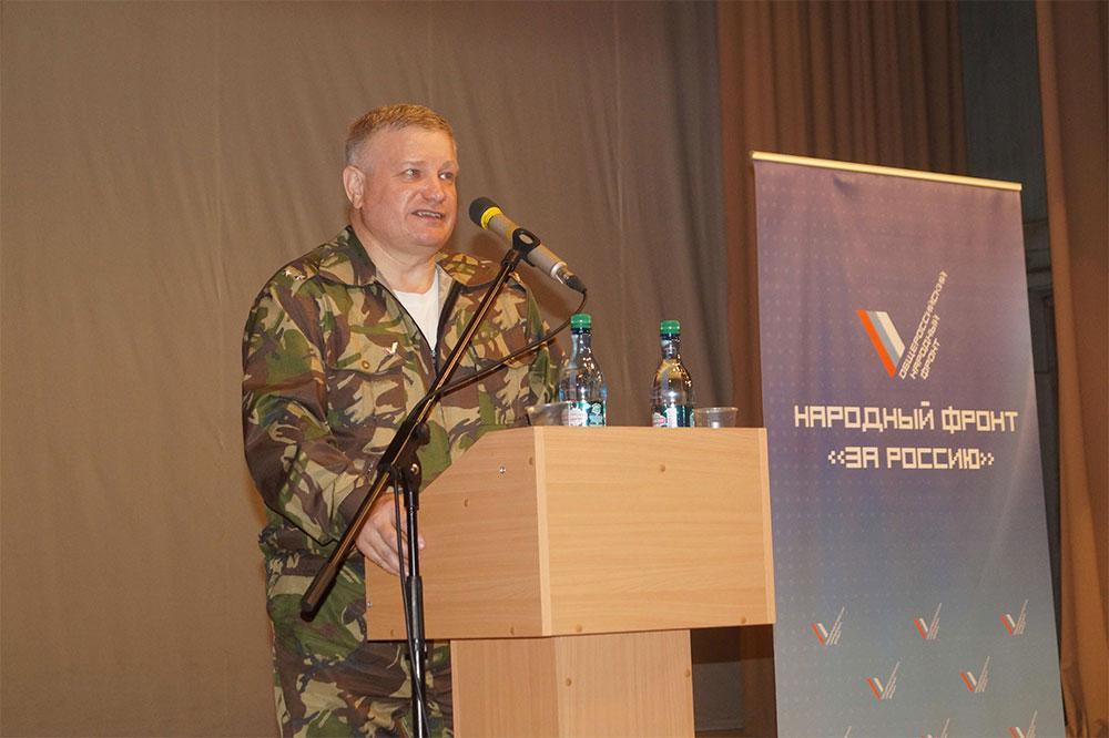 Валерий Горбунов — депутат Законодательного собрания Алтая, подполковник, активист ОНФ. Фото © Алтайский край. Природа Сибири