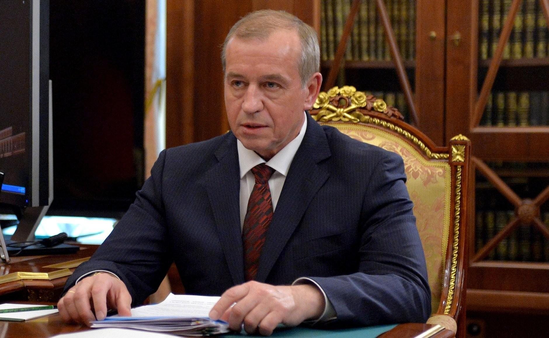 Бывший губернатор Сергей Левченко. Фото © Kremlin.ru