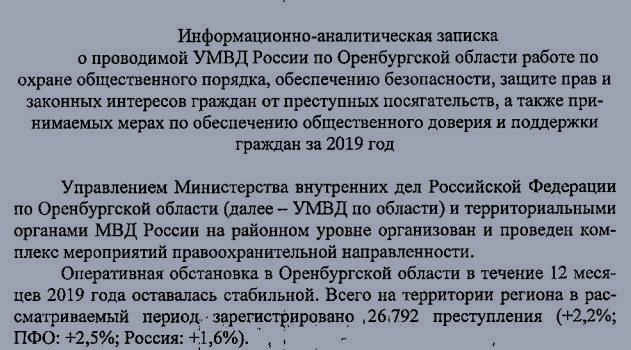 Доклад УМВД России по Оренбургской области для местных депутатов. Фото © Ural56.ru