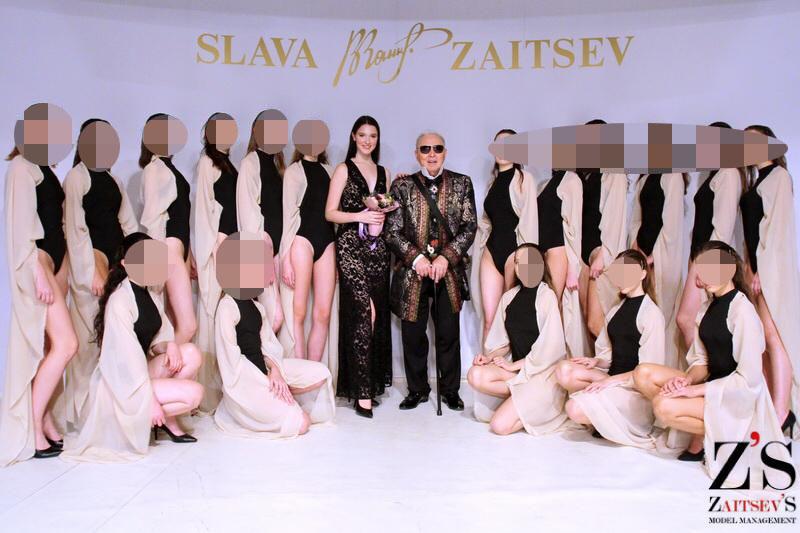 Лиза работала моделью в Доме моды Вячеслава Зайцева. Фото © Соцсети