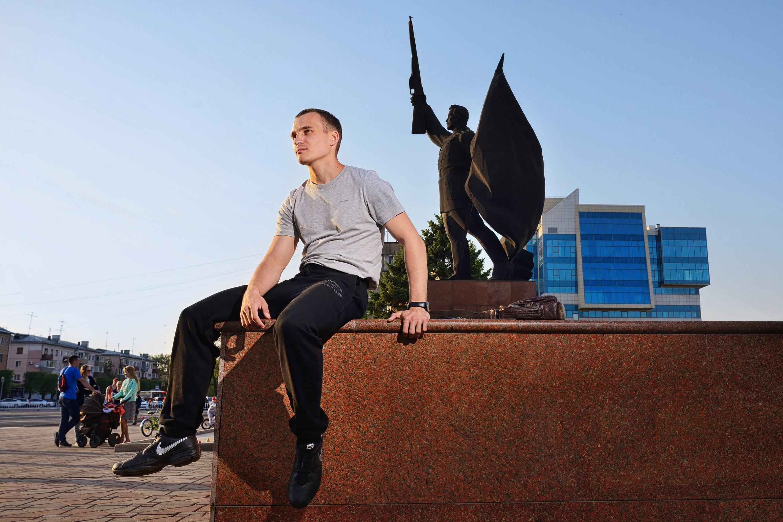 У Андрея Клочкова ещё много идей. Фото © VK / Андрей Клочков