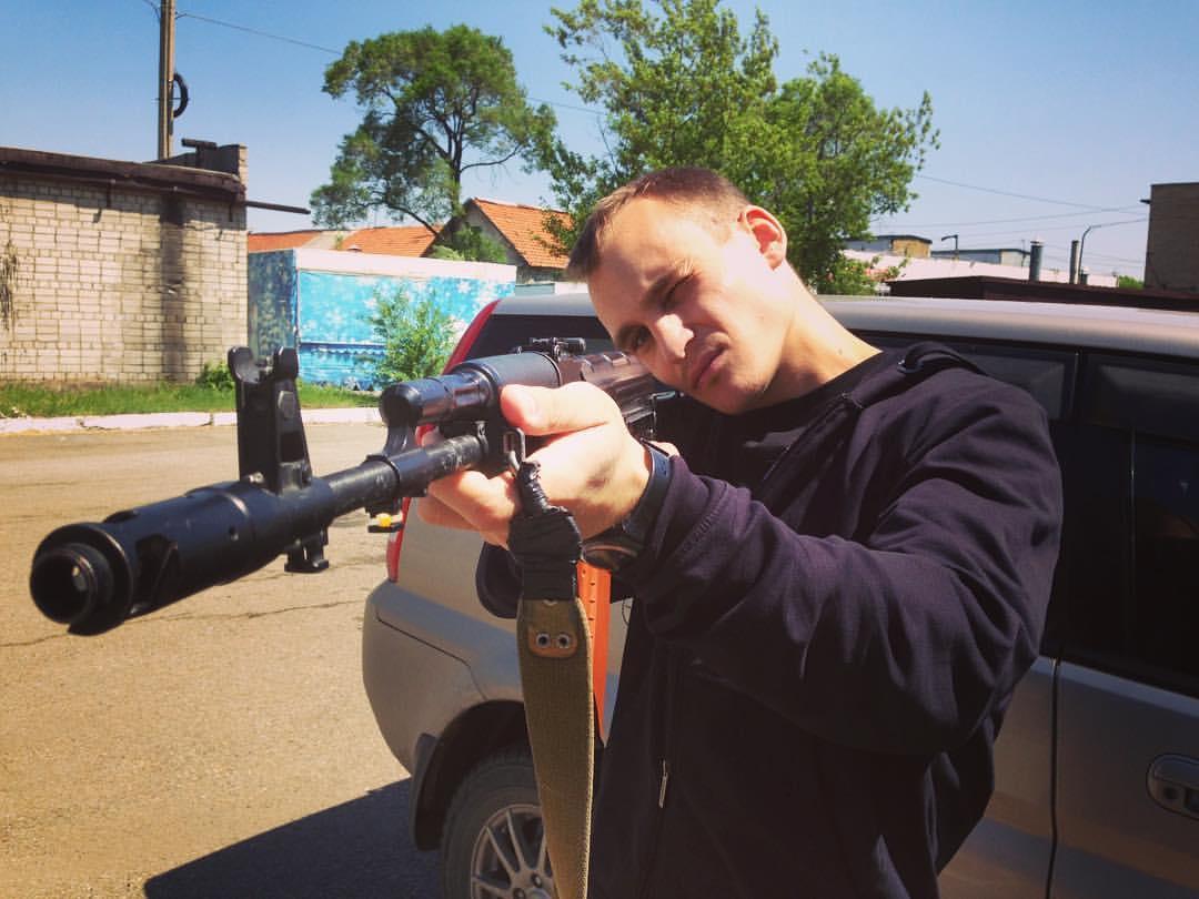 Андрей Клочков — создатель депутата Наливкина. Фото © VK / Андрей Клочков