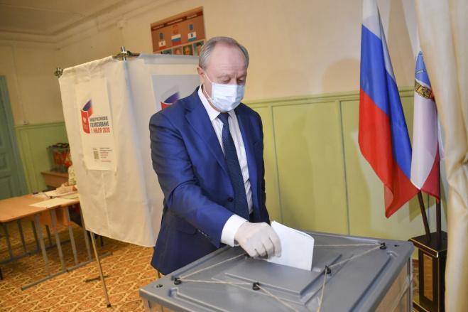 <p>Губернатор Саратовской области Валерий Радаев. Фото © Пресс-служба губернатора Саратовской области</p>
