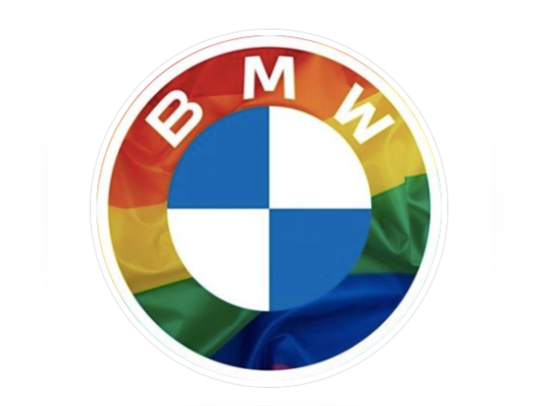BMW и Mercedes-Benz изменили логотипы в поддержку сексуальных меньшинств