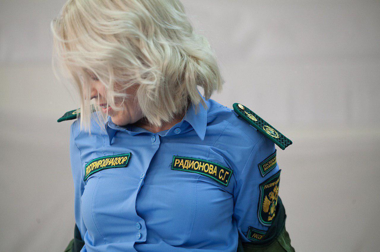 Глава Росприроднадзора Светлана Радионова на встрече с общественниками. Фото ©krskforum.com