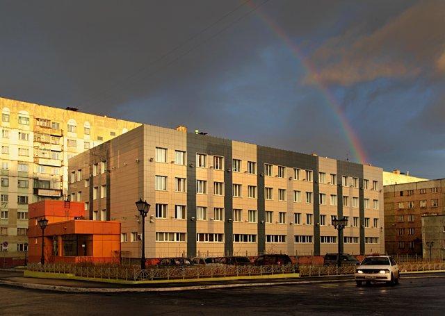 Здание Управления Норильско-Таймырской энергетической компании (НТЭК). Фото © НТЭК