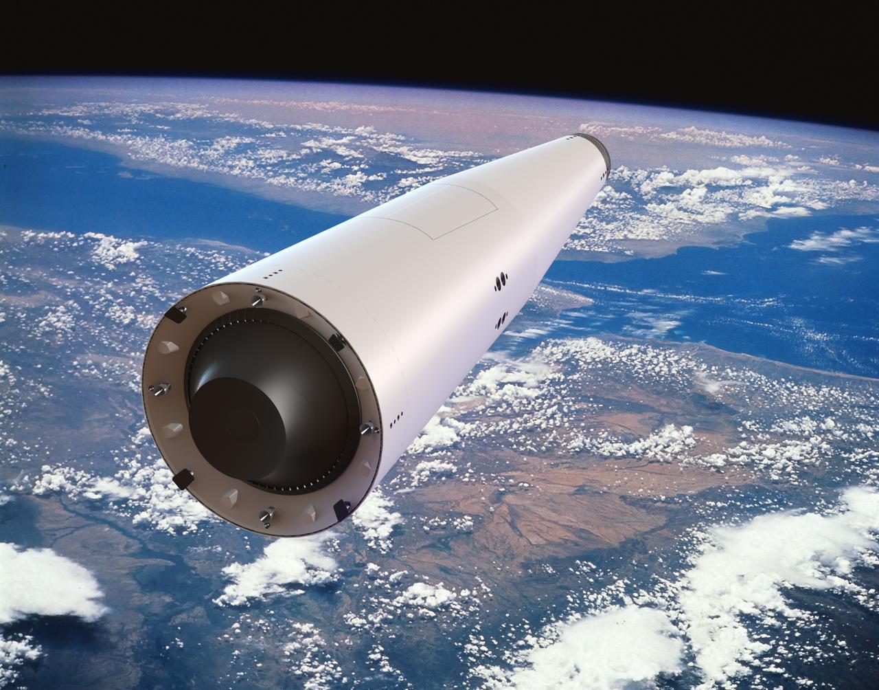Иллюстрация к проекту одноступенчатой многоразовой ракеты КОРОНА. Фото © Wikipedia