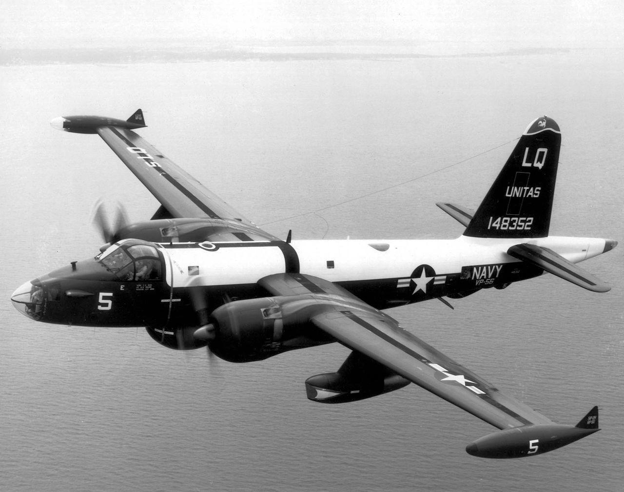 """Патрульный противолодочный самолёт P-2H """"Нептун"""". Фото ©Wikipedia"""