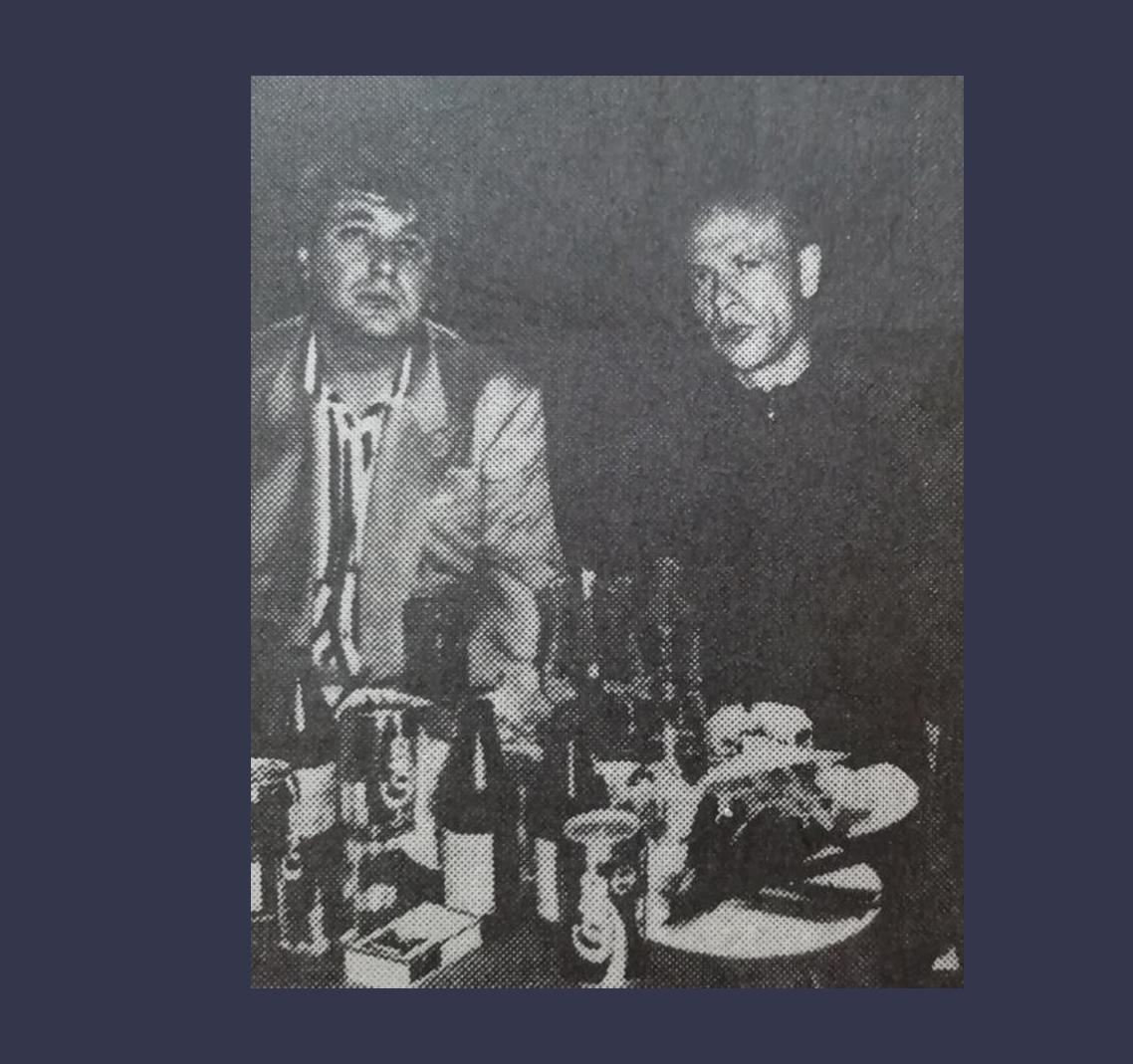 """""""Старая гвардия"""" — слева Вася Бандит, справа Шурик Захар. Фото ©Primecrime.ru"""