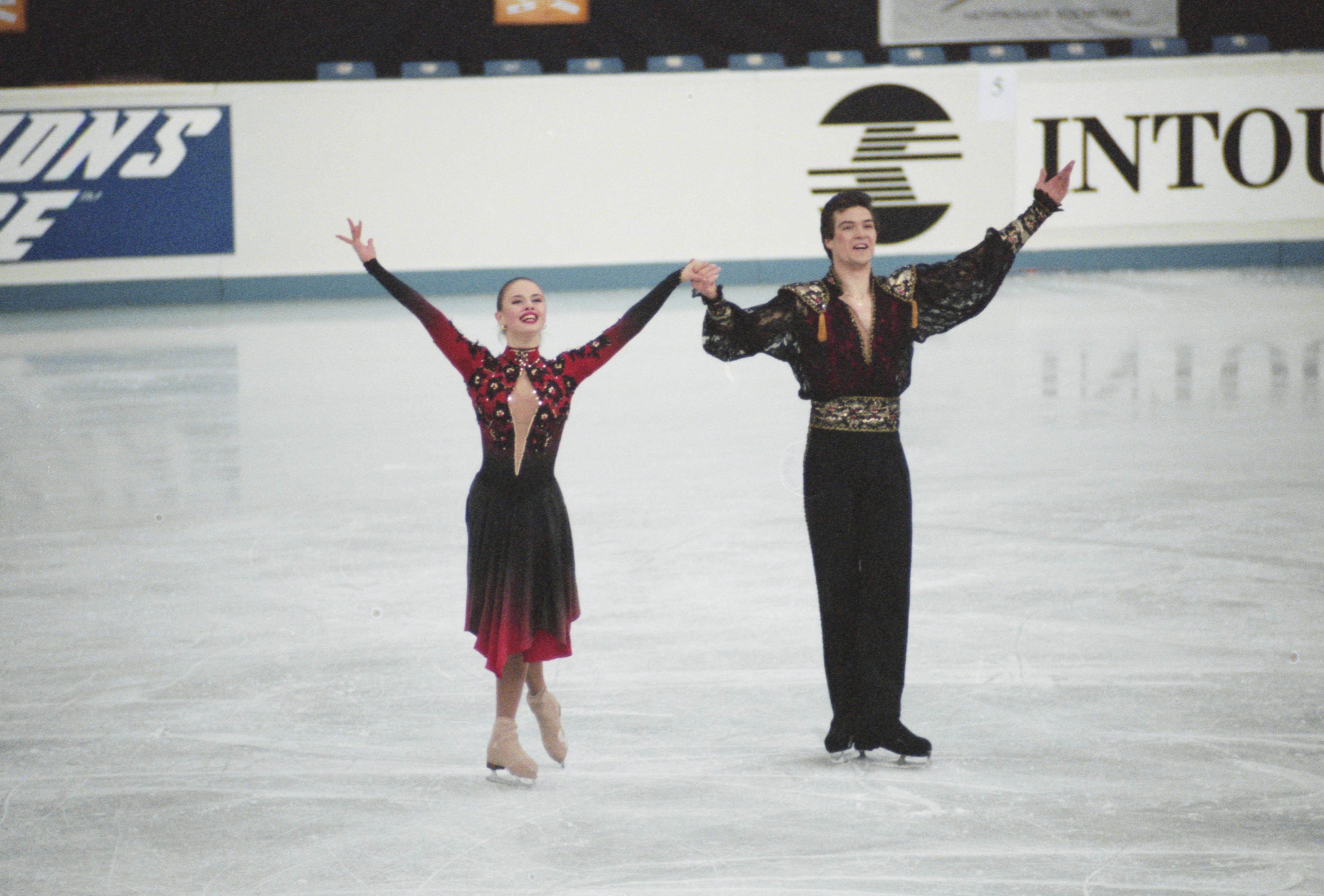 Анна Семенович и Владимир Фёдоров в 1997 году. Фото © Фотохроника ТАСС / Юрий Белинский