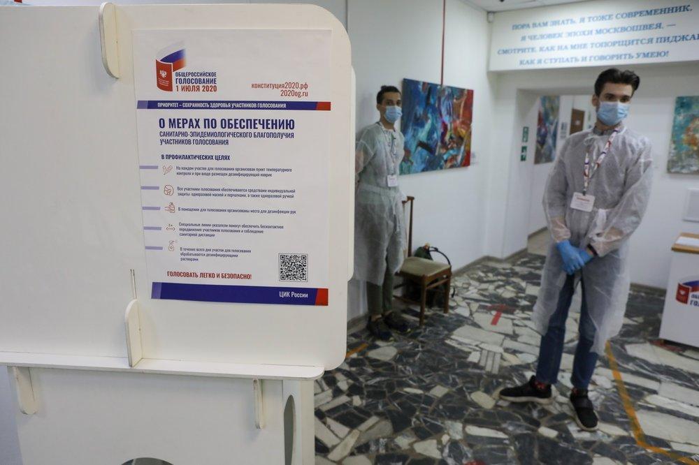 Эксперт - о ходе голосования: Любые злоупотребления исключены