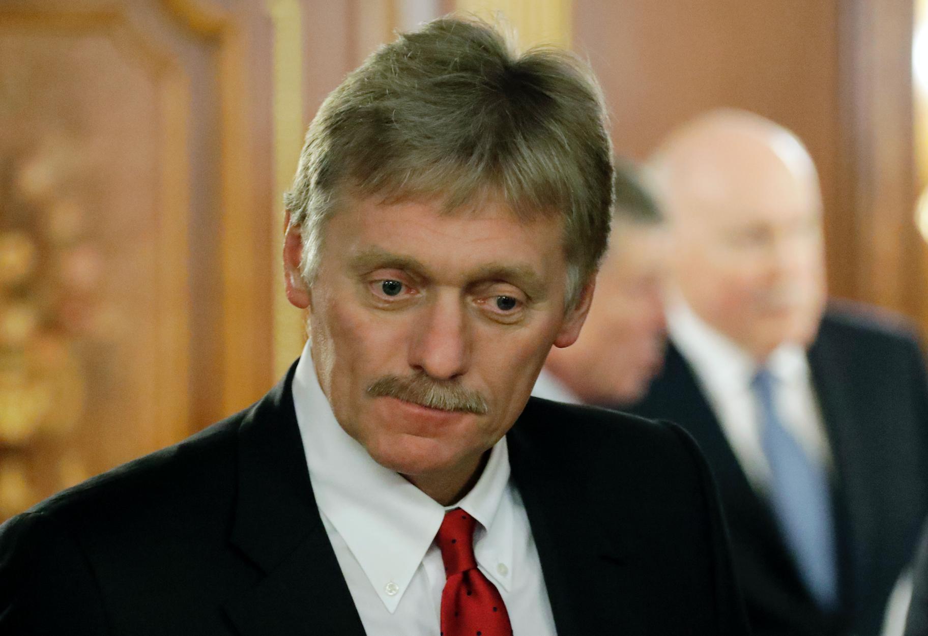 """""""Ничего не могу сказать об аутентичности"""". Песков прокомментировал появление записи разговора якобы Путина и Порошенко"""