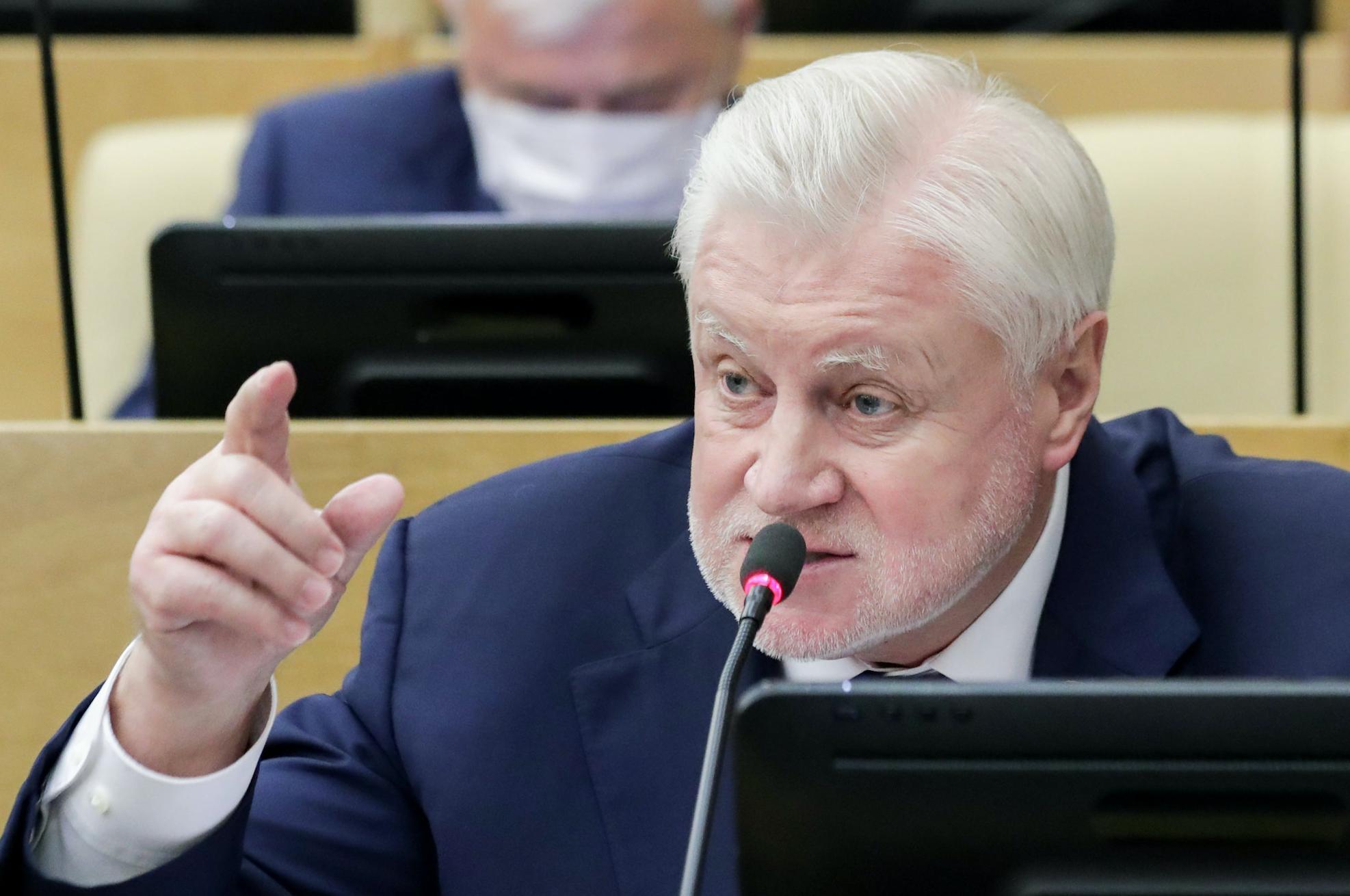 """""""Пусть разбирается суд"""". Миронов отреагировал на задержание Фургала"""
