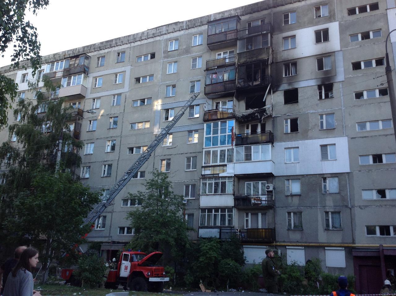 СКР возбудил уголовное дело по факту взрыва газа в жилом доме в Нижнем Новгороде