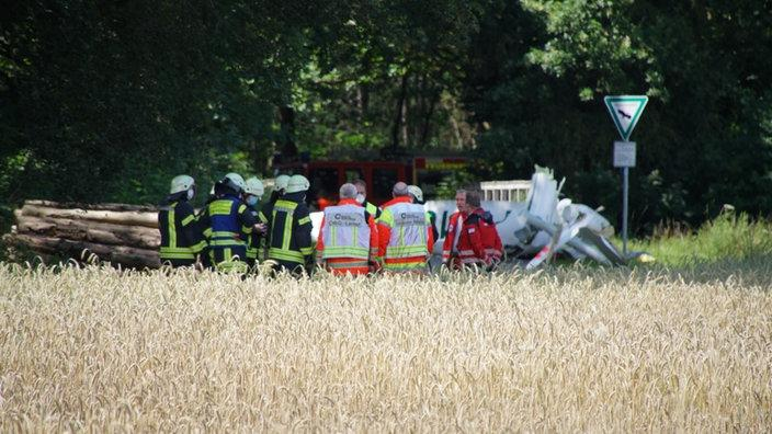 В Германии два самолёта столкнулись в небе