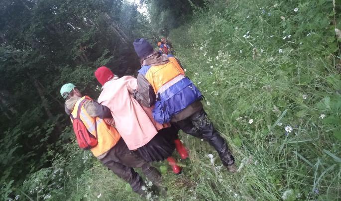 """Под Костромой нашли """"красную шапочку"""", которая провела в лесу 36 часов"""