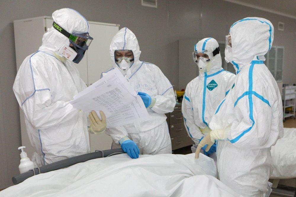 В России коронавирус подтвердился ещё у 6611 человек