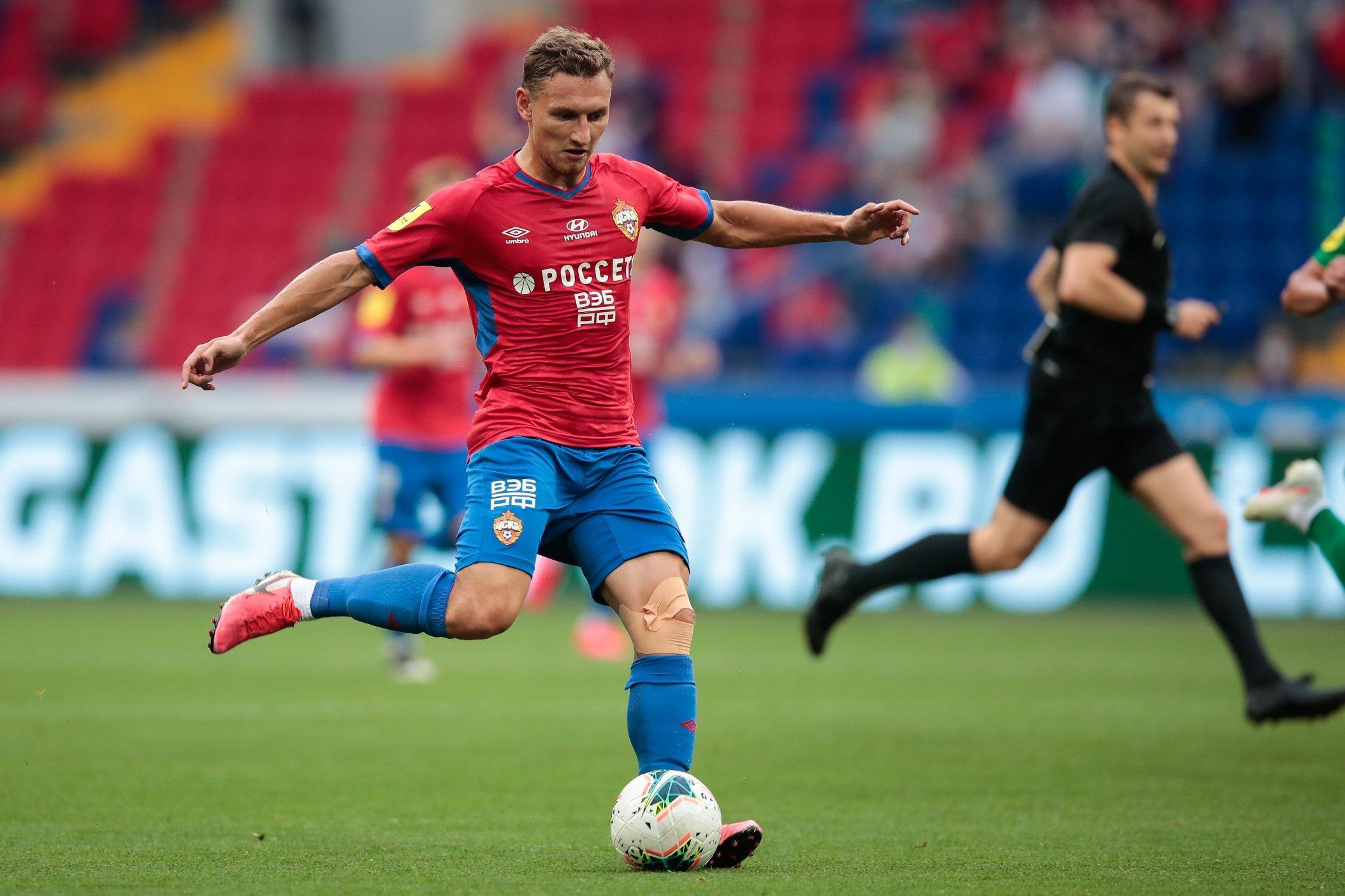 Чалов забил за ЦСКА в третьем матче подряд