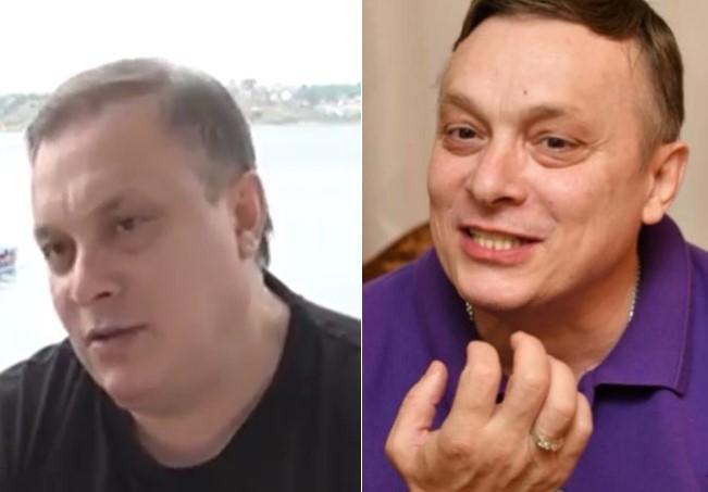Андрей Разин до и после похудения. Коллаж © LIFE. Фото © Instagram / Андрей Разин