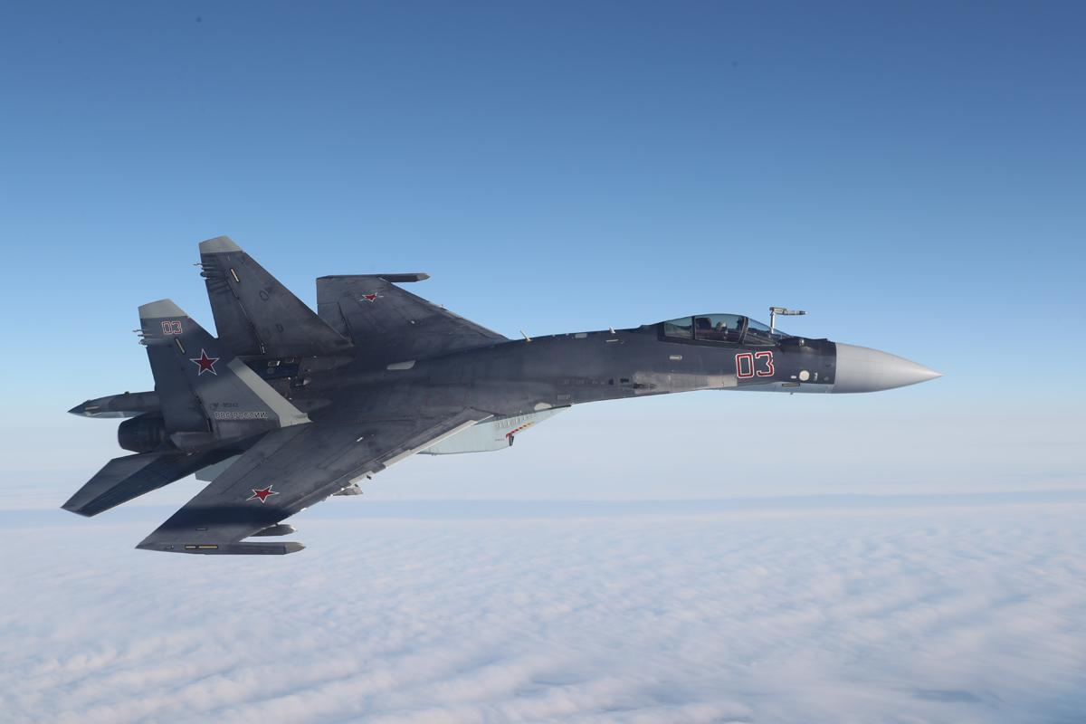 Российские истребители вылетали на перехват самолётов-разведчиков США и Норвегии