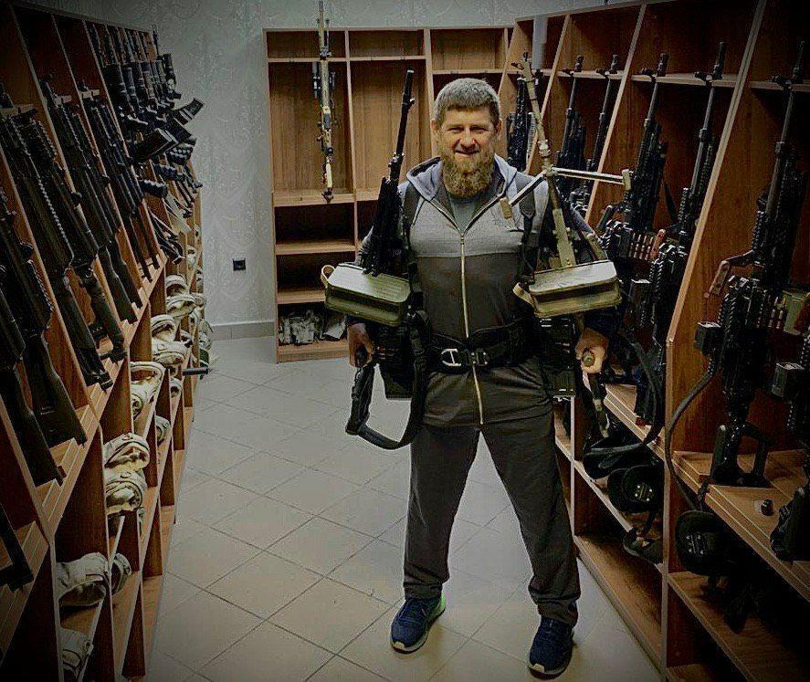 Фото © Telegram-канал / Kadyrov_95
