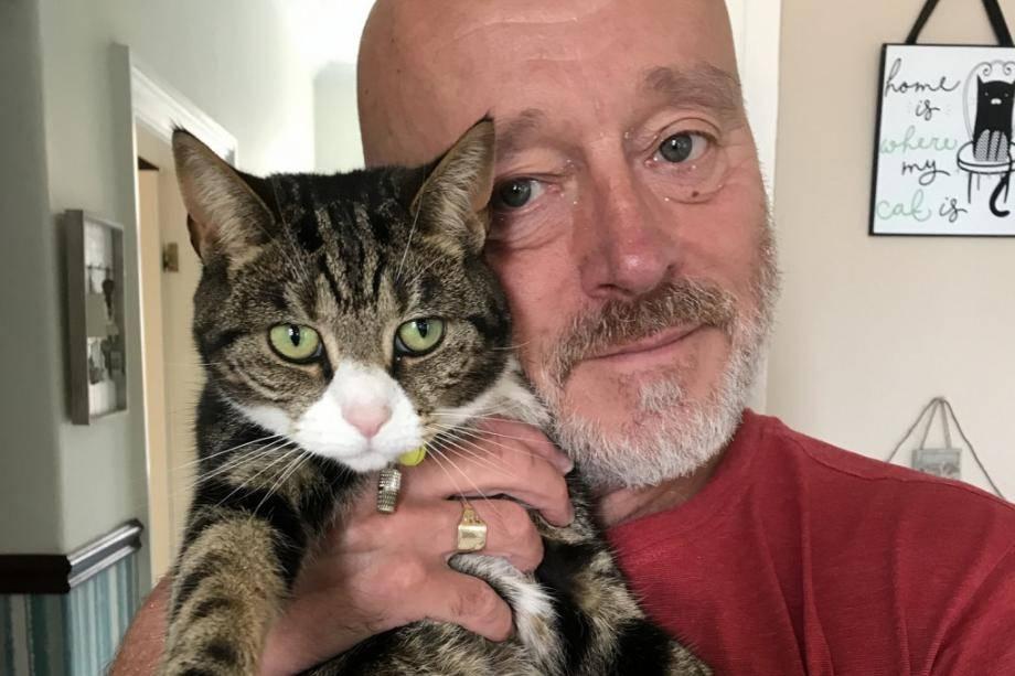 Хозяева были встревожены странным кашлем кошки, пока врач не достал из её рта травинку в 20 см