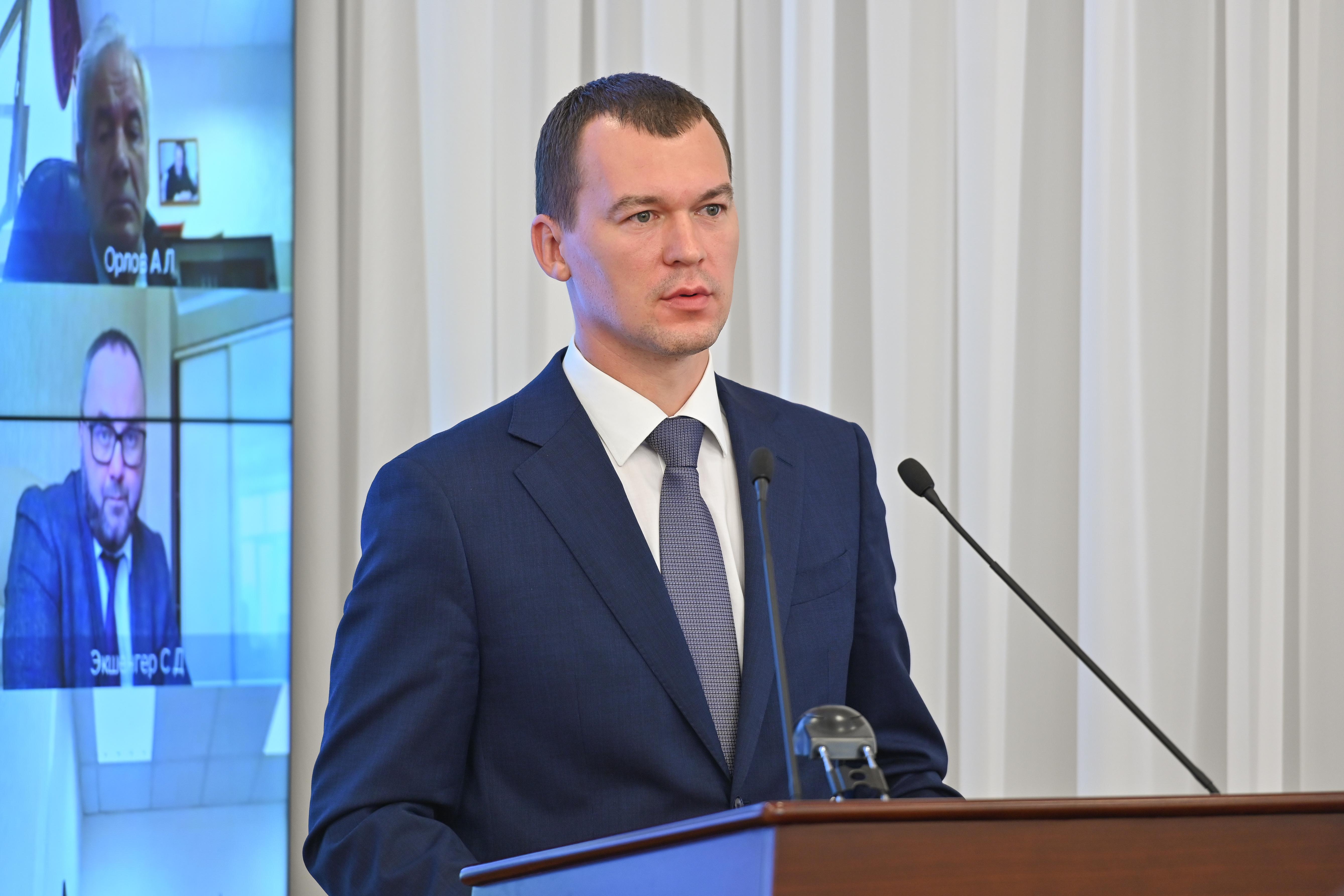 Дегтярёв рассказал о первых перестановках в Правительстве Хабаровского края