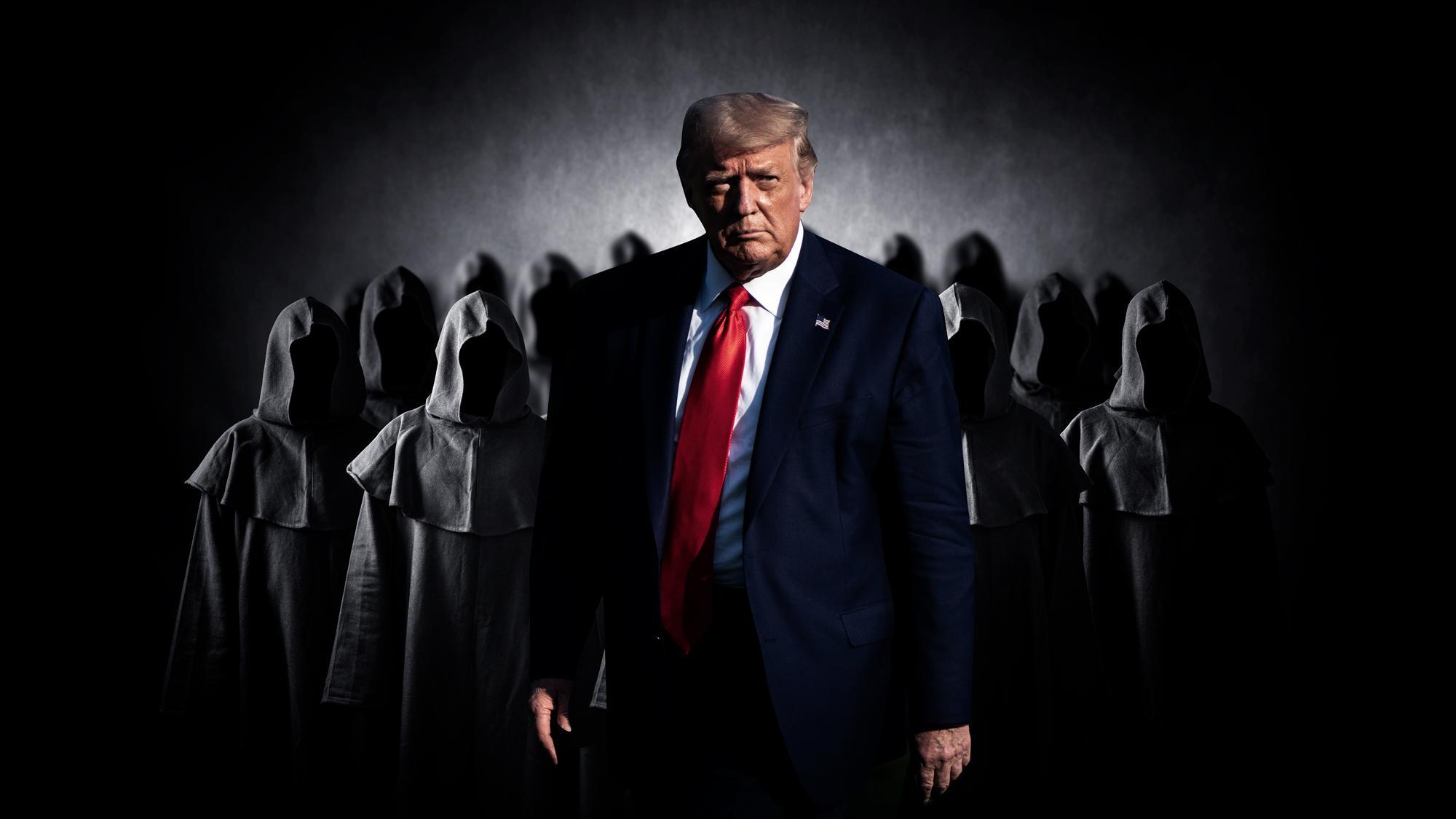 Охота на педофилов и дети в подземельях. Трампа подозревают в войне против