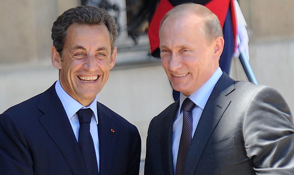 Саркози рассказал о конфузе из-за шоколадки во время первой встречи с Путиным