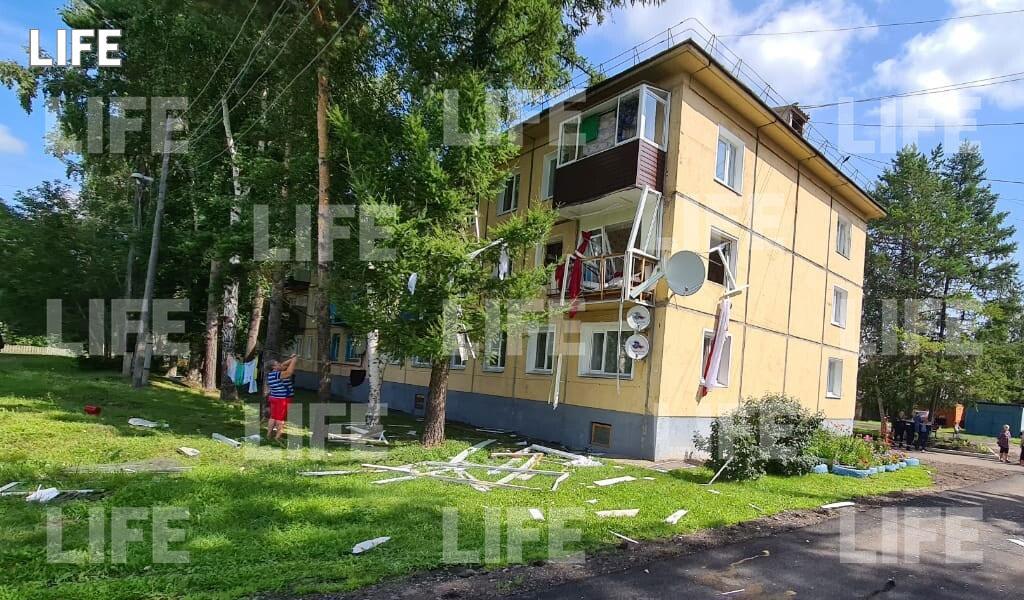 При взрыве газа в жилом доме в Красноярском крае пострадала женщина