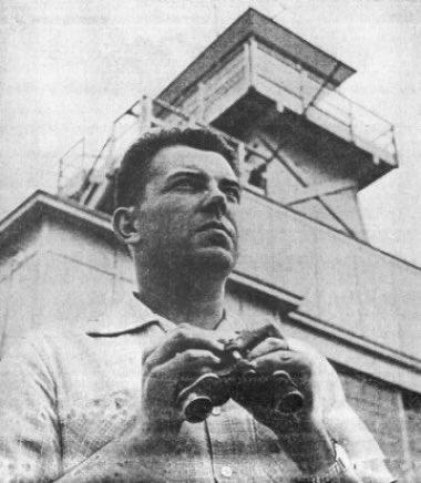 Капитан ВВС США Эдвард Руппельт, руководивший проектом в 1951–1953 годах. Фото © twitter.com / BlueBookBelieve