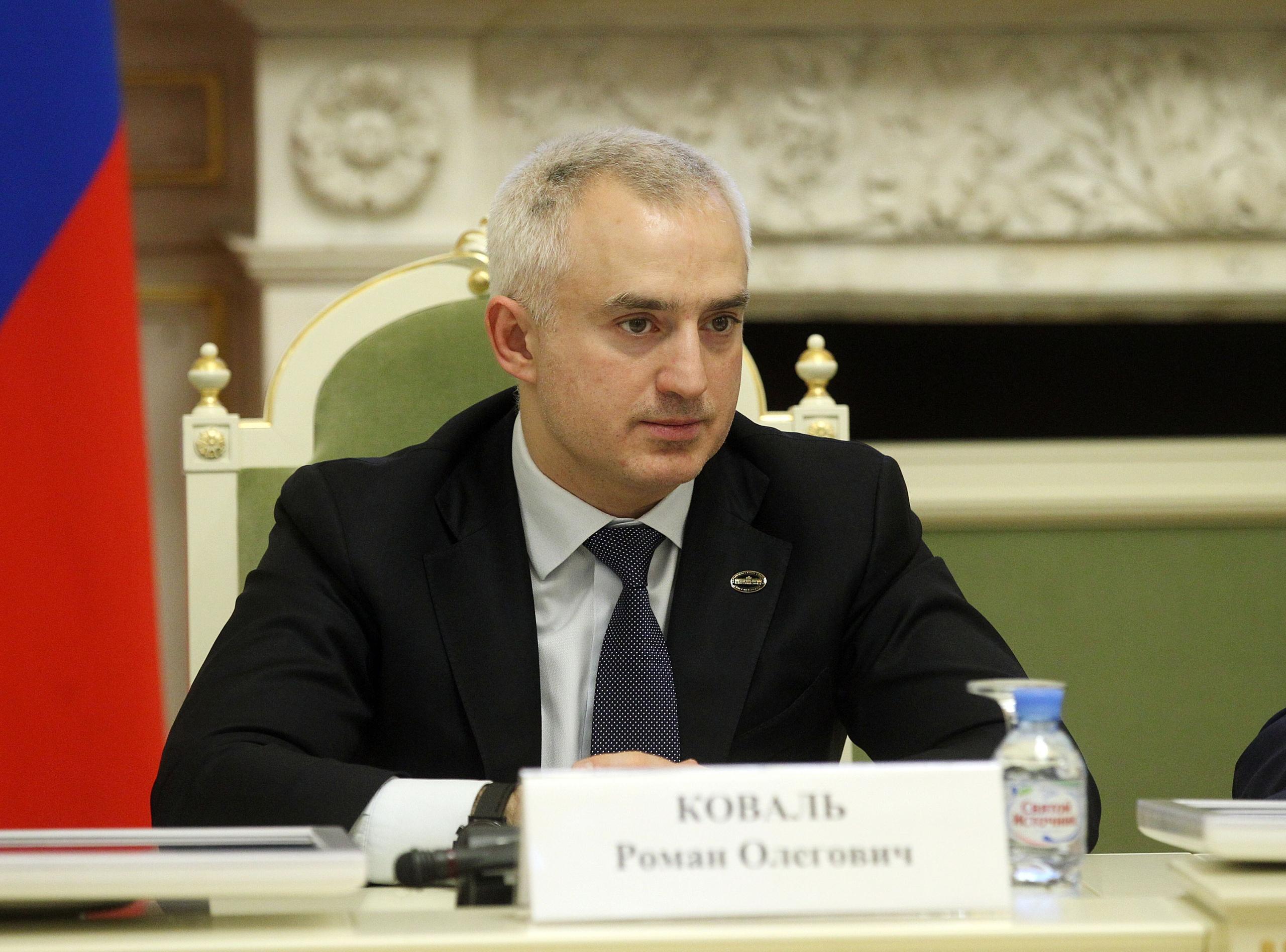 Петербургский депутат Коваль. Фото © vk.com / koval_team