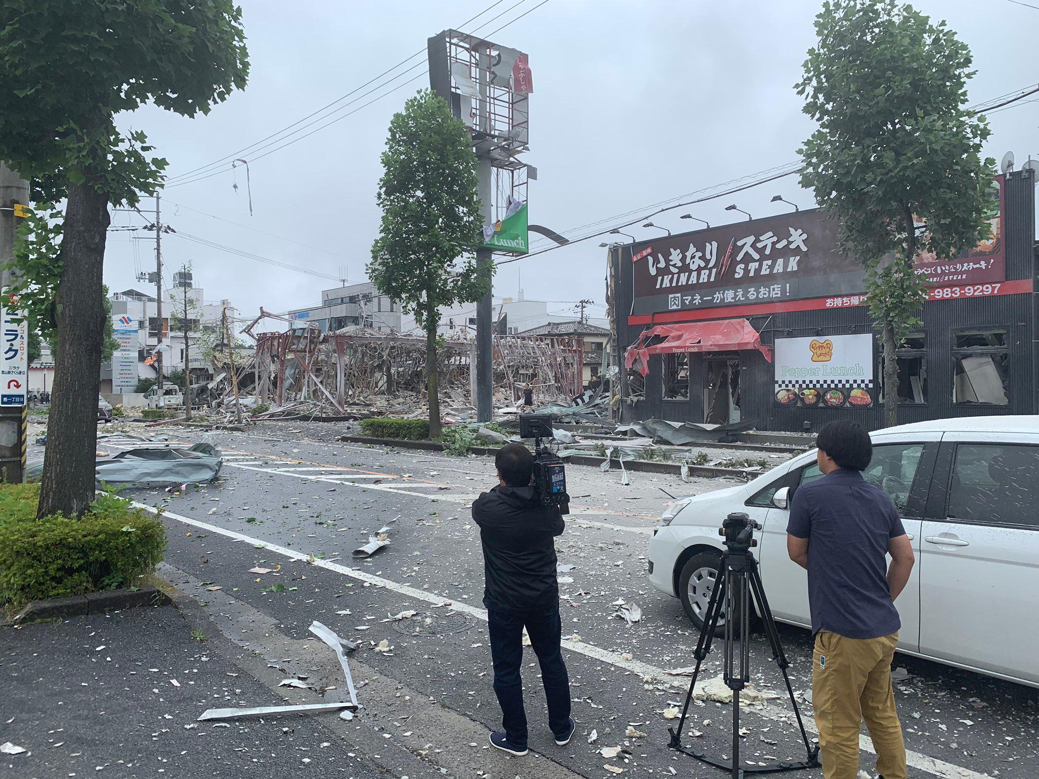 В Фукусиме произошёл взрыв газа, есть пострадавшие