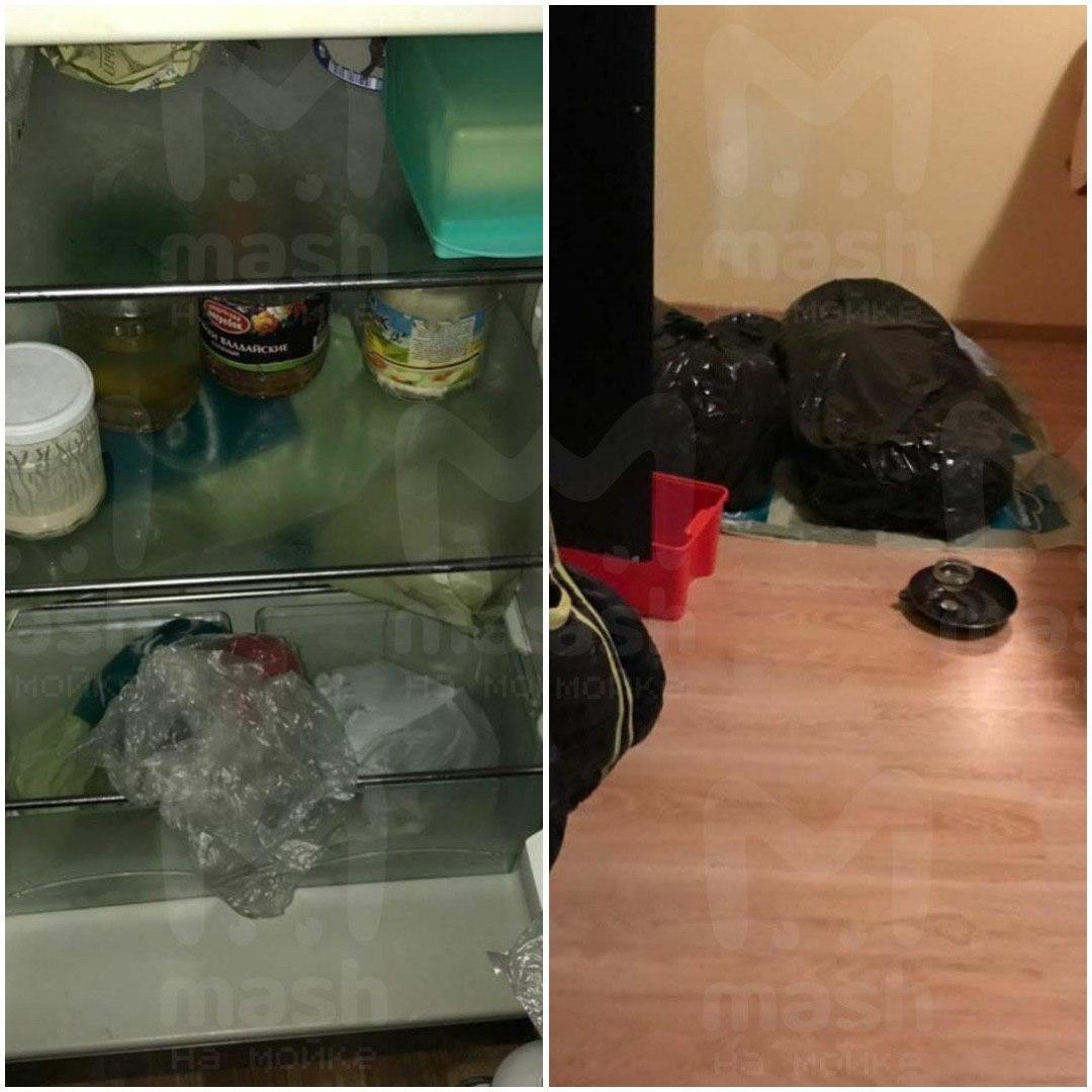Опубликованы фото из квартиры, где жена расчленила тело Энди Картрайта. Останки она хранила в холодильнике