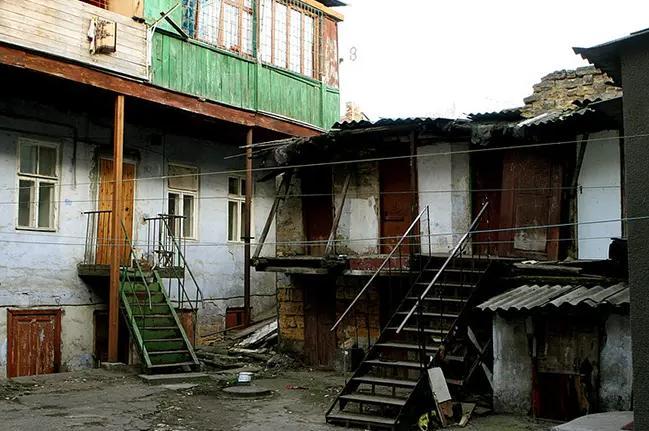 Дворик Мишки Япончика на Молдаванке. Фото © 24smi.org