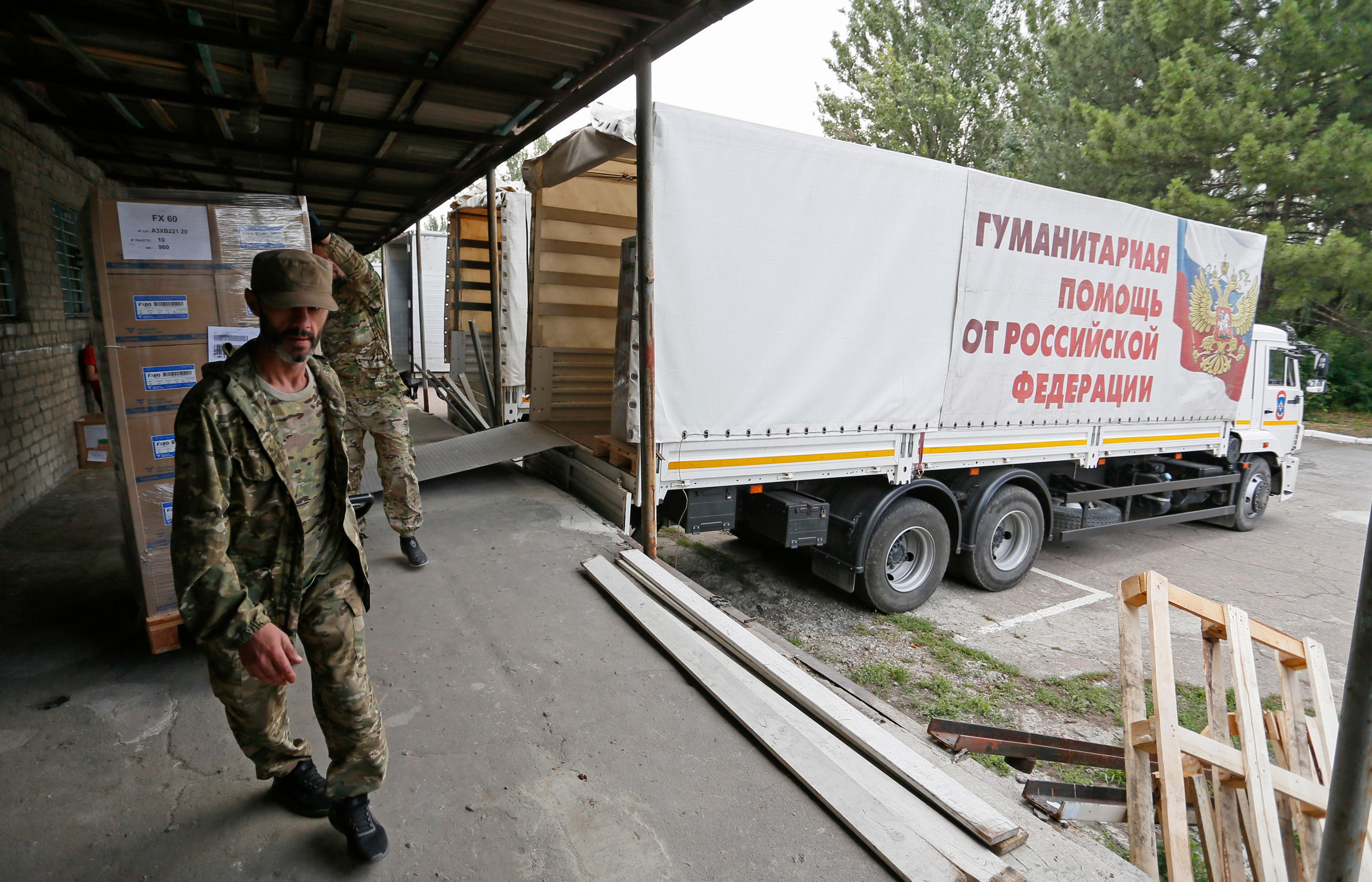 Украина направила России ноту протеста из-за гуманитарной помощи Донбассу