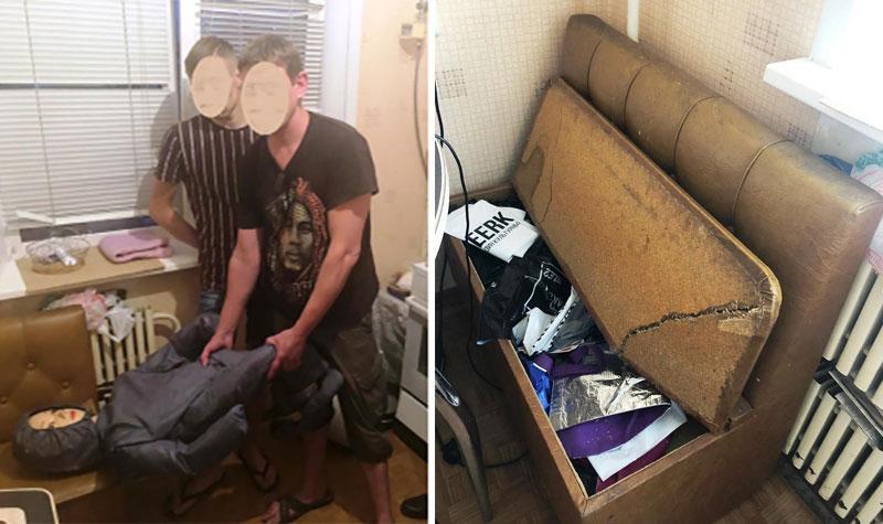 Россиянин сломал диван головой пасынка. За молчание ребёнку пообещали планшет