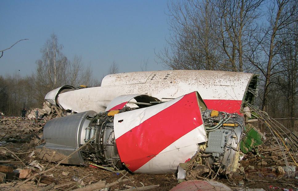 В Польше заявили, что в России в самолёт Качиньского заложили тротил