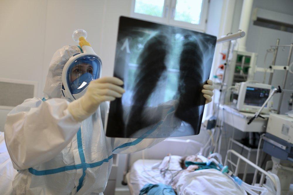 За сутки в России выявили 5394 новых случая коронавируса