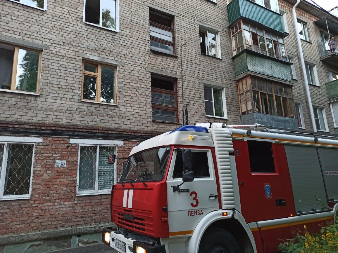 При пожаре в жилом доме в Пензе погибло три человека