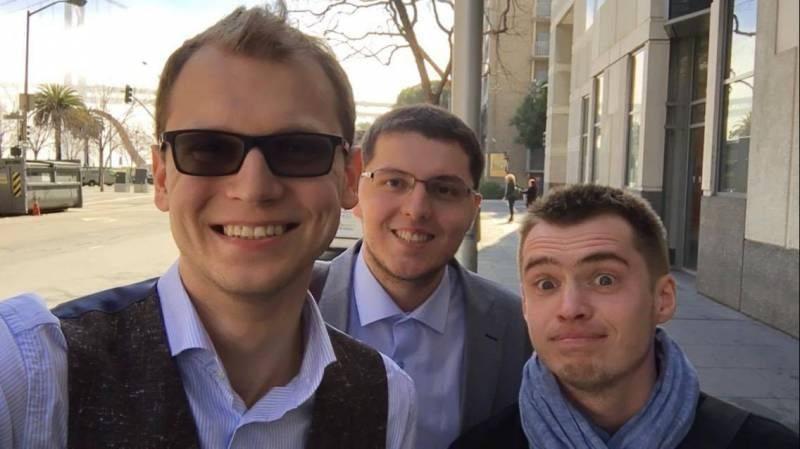 Слева направо: Евгений Невгень, Сергей Гончар и Евгений Затепякин. Фото © bel.biz