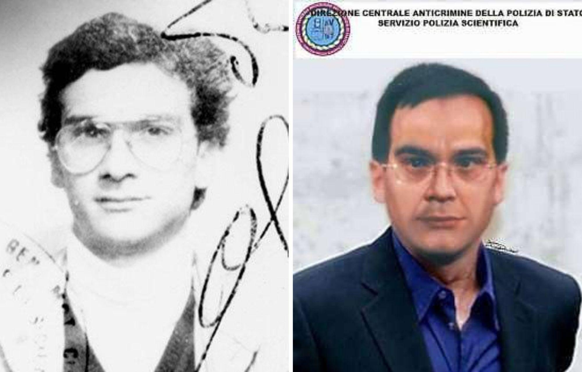 "Слева — фото Денаро на его водительском удостоверении, справа — фоторобот Денаро, ""состаренного"" на 20 лет. Фото © Wikimedia Commons"