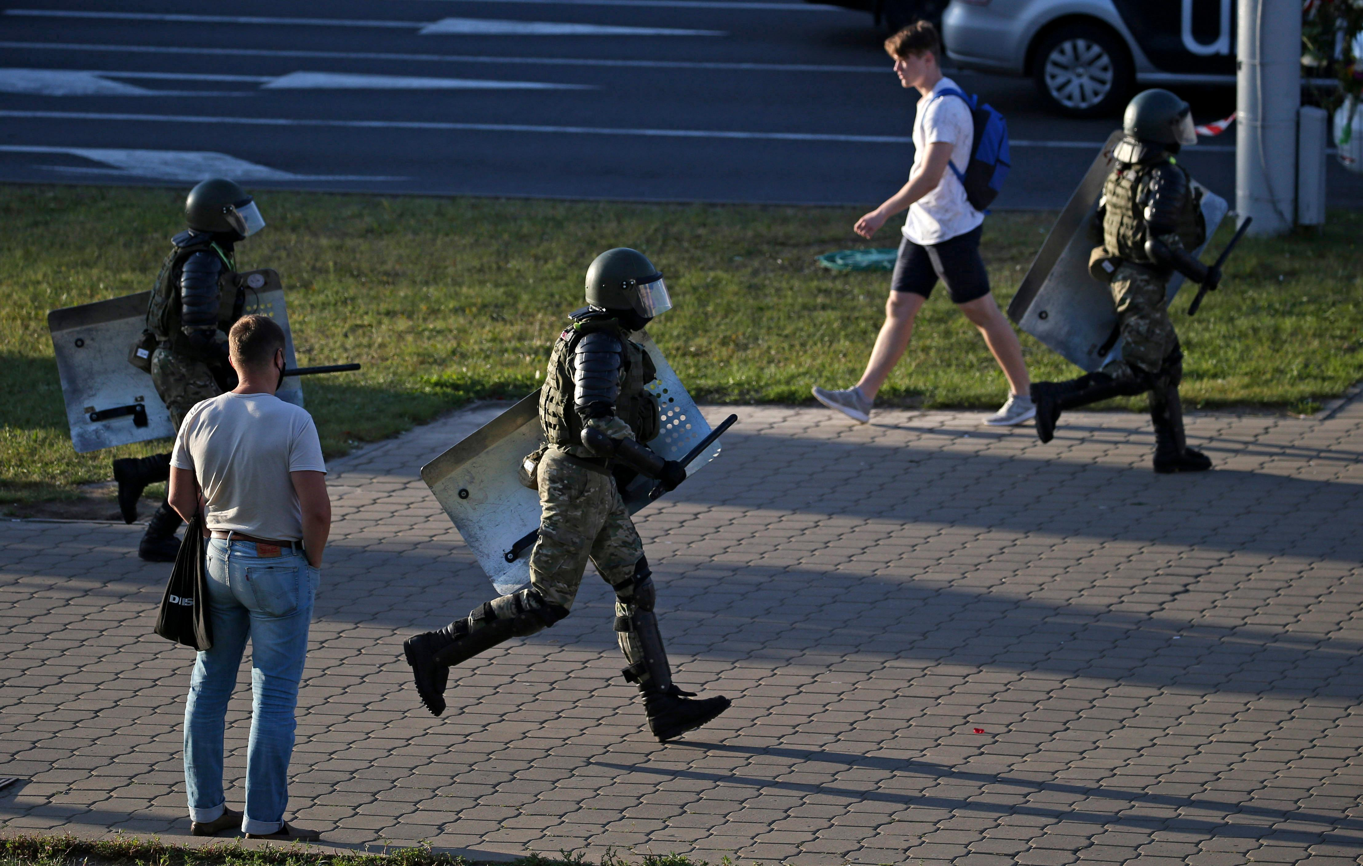СМИ: В Минске задержаны организаторы массовых беспорядков
