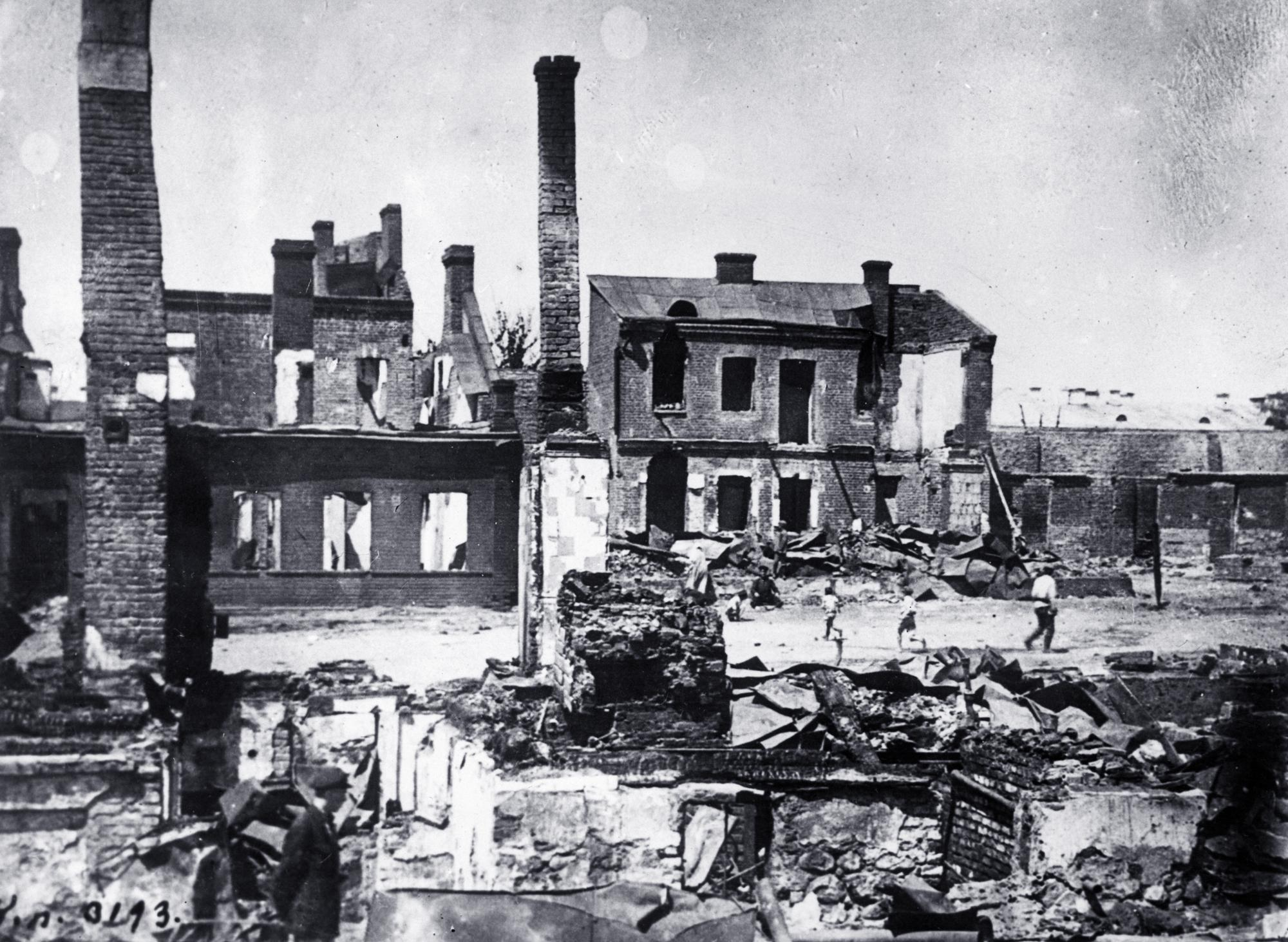 Минск, 1920 год. Фото © Getty Images / Slava Katamidze Collection