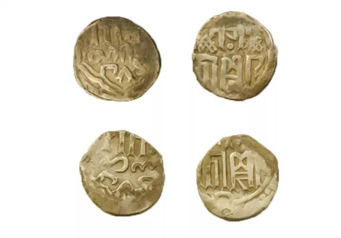 Монеты Золотой Орды. Фото © Mos.ru