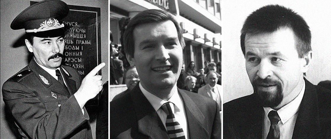 Юрий Захаренко, Виктор Гончар и Анатолий Красовский. Фото © Wikipedia
