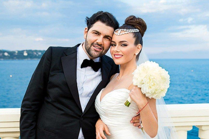 Давид Беркович с женой. Фото © с сайта eva.ru